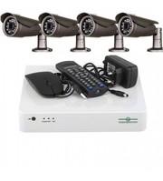 Комплект Відеоспостереження Green Vision GV-K-L11/04 720P